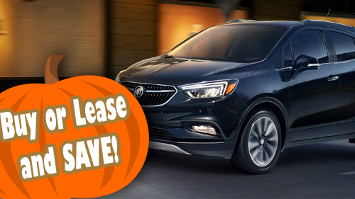 Buy or Lease and Save on Buick