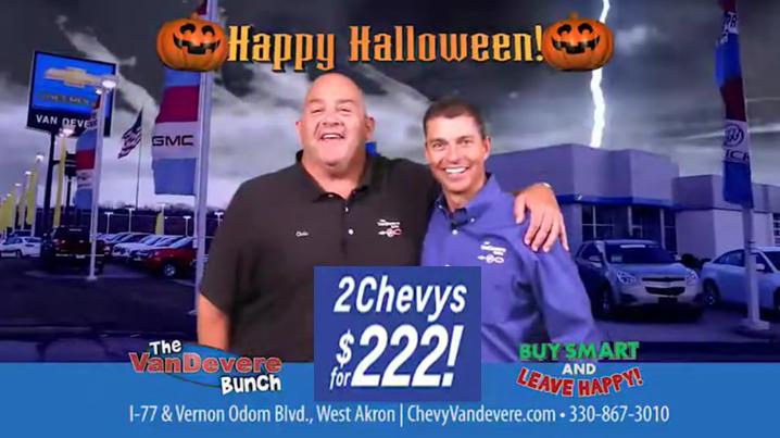 Chevrolet's 2 For $222